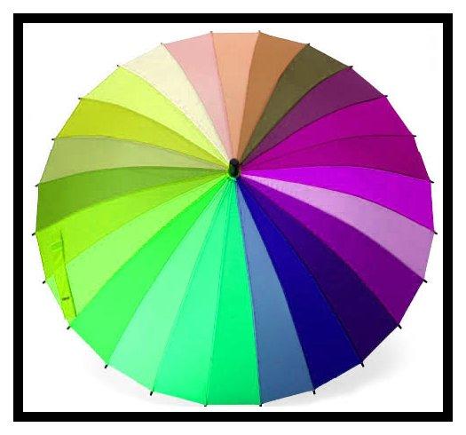Смешивание цветов красок