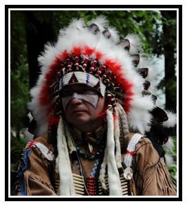 Боевая раскраска индейцев