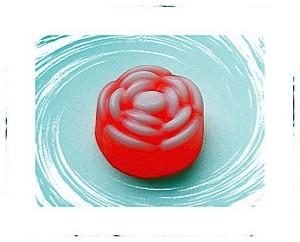 мыло из основы роза