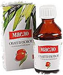 облепиховое масло - натуральный краситель для мыла