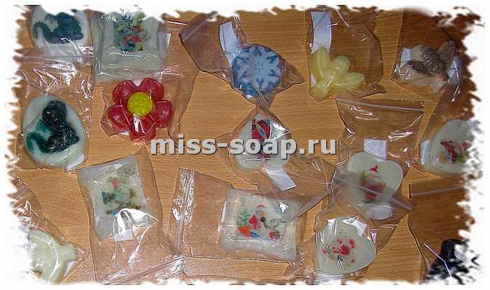 Упаковка мыла своими руками