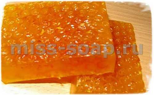 медовое мыло фото